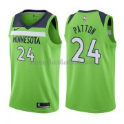 Minnesota Timberwolves Basketball Trøjer 2018 Karl Justin Patton 24# Statement Edition..