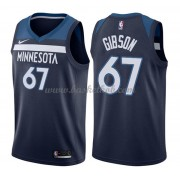 Minnesota Timberwolves Basketball Trøjer 2018 Taj Gibson 67# Icon Edition..