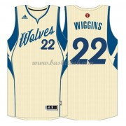 Minnesota Timberwolves 2015 Andrew Wiggins 22# Jul NBA Basketball Trøjer..