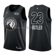 Minnesota Timberwolves Jimmy Butler 23# Sort 2018 All Star Game Swingman Basketball Trøjer..