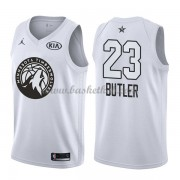 Minnesota Timberwolves Jimmy Butler 23# Hvid 2018 All Star Game Swingman Basketball Trøjer..