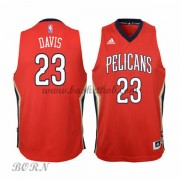 NBA Basketball Trøje Børn New Orleans Pelicans 2015-16 Anthony Davis 23# Alternate