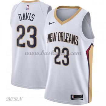 NBA Basketball Trøje Børn New Orleans Pelicans 2018 Anthony Davis 23# Association Edition