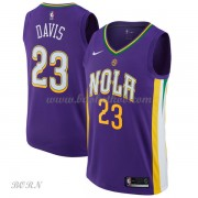 NBA Basketball Trøje Børn New Orleans Pelicans 2018 Anthony Davis 23# City Edition..