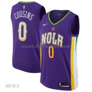NBA Basketball Trøje Børn New Orleans Pelicans 2018 DeMarcus Cousins 0# City Edition..