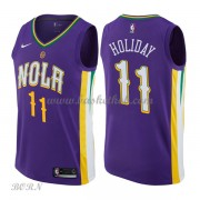 NBA Basketball Trøje Børn New Orleans Pelicans 2018 Jrue Holiday 11# City Edition..