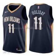 NBA Basketball Trøje Børn New Orleans Pelicans 2018 Jrue Holiday 11# Icon Edition..