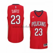 New Orleans Pelicans Basketball Trøjer 2015-16 Anthony Davis 23# Alternate..