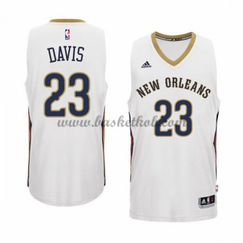 New Orleans Pelicans Basketball Trøjer 2015-16 Anthony Davis 23# Home