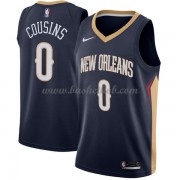 New Orleans Pelicans Basketball Trøjer 2018 DeMarcus Cousins 0# Icon Edition..