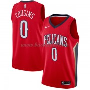 New Orleans Pelicans Basketball Trøjer 2018 DeMarcus Cousins 0# Statement Edition..