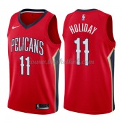 New Orleans Pelicans Basketball Trøjer 2018 Jrue Holiday 11# Statement Edition..
