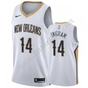 New Orleans Pelicans Basketball Trøjer NBA 2019-20 Brandon Ingram 14# Hvid Association Edition Swing..