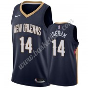 New Orleans Pelicans Basketball Trøjer NBA 2019-20 Brandon Ingram 14# Marine blå Icon Edition Swingm..