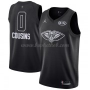New Orleans Pelicans DeMarcus Cousins 0# Sort 2018 All Star Game Swingman Basketball Trøjer..