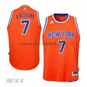 New York Knicks Børn NBA Trøjer 2015-16  Carmelo Anthony 7# Alternate Swingman..