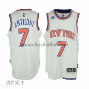 New York Knicks Børn NBA Trøjer 2015-16  Carmelo Anthony 7# Home Swingman..