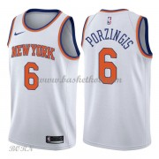 NBA Basketball Trøje Børn New York Knicks 2018 Kristaps Porzingis 6# Association Edition..