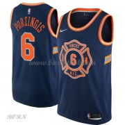 NBA Basketball Trøje Børn New York Knicks 2018 Kristaps Porzingis 6# City Edition..