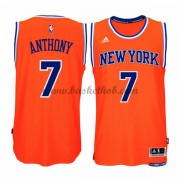 New York Knicks Mænd NBA Trøjer 2015-16  Carmelo Anthony 7# Alternate Swingman