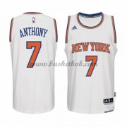 New York Knicks Mænd NBA Trøjer 2015-16  Carmelo Anthony 7# Home Swingman..