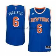 New York Knicks Basketball Trøjer 2015-16 Kristaps Porzingis 6# Road..