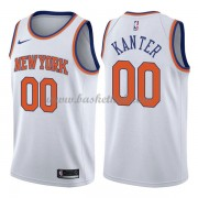New York Knicks Basketball Trøjer 2018 Enes Kanter 0# Association Edition..