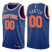 New York Knicks Basketball Trøjer 2018 Enes Kanter 0# Icon Edition..