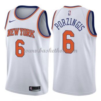 New York Knicks Basketball Trøjer 2018 Kristaps Porzingis 6# Association Edition