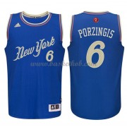 New York Knicks 2015 Kristaps Porzingis 6# Jul NBA Basketball Trøjer..