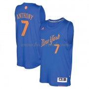 New York Knicks 2016 Carmelo Anthony 7# Jul NBA Basketball Trøjer..