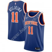 New York Knicks Basketball Trøjer NBA 2019-20 Frank Ntilikina 11# Blå Icon Edition Swingman..