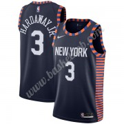 New York Knicks Basketball Trøjer NBA 2019-20 Tim Hardaway Jr. 3# Marine blå City Edition Swingman..
