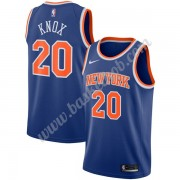 New York Knicks Basketball Trøjer NBA 2019-20 Kevin Knox 20# Blå Icon Edition Swingman..