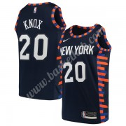 New York Knicks Basketball Trøjer NBA 2019-20 Kevin Knox 20# Marine blå City Edition Swingman..