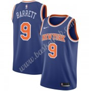 New York Knicks Basketball Trøjer NBA 2019-20 RJ Barrett 9# Blå Icon Edition Swingman..