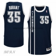 Oklahoma City Thunder Børn NBA Trøjer 2015-16  Kevin Durant 35# Blå Alternate Swingman..