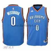 NBA Basketball Trøje Børn Oklahoma City Thunder 2015-16 Russell Westbrook 0# Road..