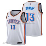 NBA Basketball Trøje Børn Oklahoma City Thunder 2018 Paul George 13# Association Edition