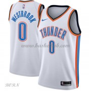 NBA Basketball Trøje Børn Oklahoma City Thunder 2018 Russell Westbrook 0# Association Edition..