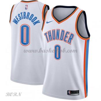 NBA Basketball Trøje Børn Oklahoma City Thunder 2018 Russell Westbrook 0# Association Edition