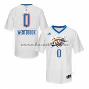 Oklahoma City Thunder Basketball Trøjer 2015-16 Russell Westbrook 0# Pride..