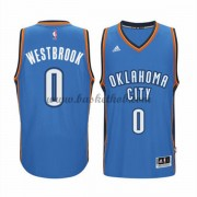 Oklahoma City Thunder Basketball Trøjer 2015-16 Russell Westbrook 0# Road..
