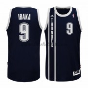 Oklahoma City Thunder Basketball Trøjer 2015-16 Serge Ibaka 9# Blå Alternate..