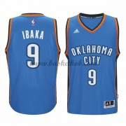 Oklahoma City Thunder Basketball Trøjer 2015-16 Serge Ibaka 9# Road..