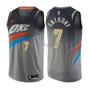 Oklahoma City Thunder Basketball Trøjer 2018 Carmelo Anthony 7# City Edition..