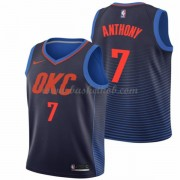 Oklahoma City Thunder Basketball Trøjer 2018 Carmelo Anthony 7# Statement Edition..