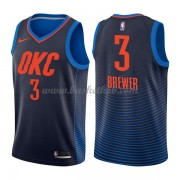 Oklahoma City Thunder Basketball Trøjer 2018 Corey Brewer 3# Statement Edition..