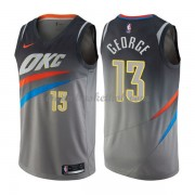 Oklahoma City Thunder Basketball Trøjer 2018 Paul George 13# City Edition..