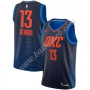 Oklahoma City Thunder Basketball Trøjer 2018 Paul George 13# Statement Edition..